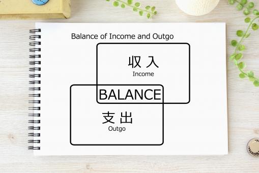 収入 支出 メモ